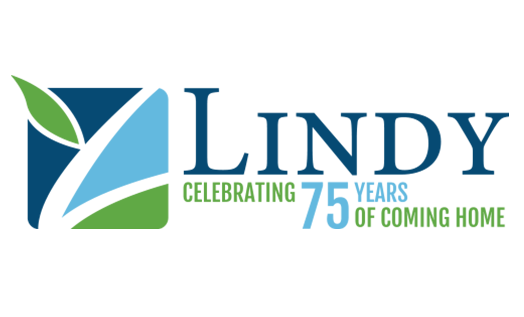 Logo of Lindy celebrating 75 years of coming home