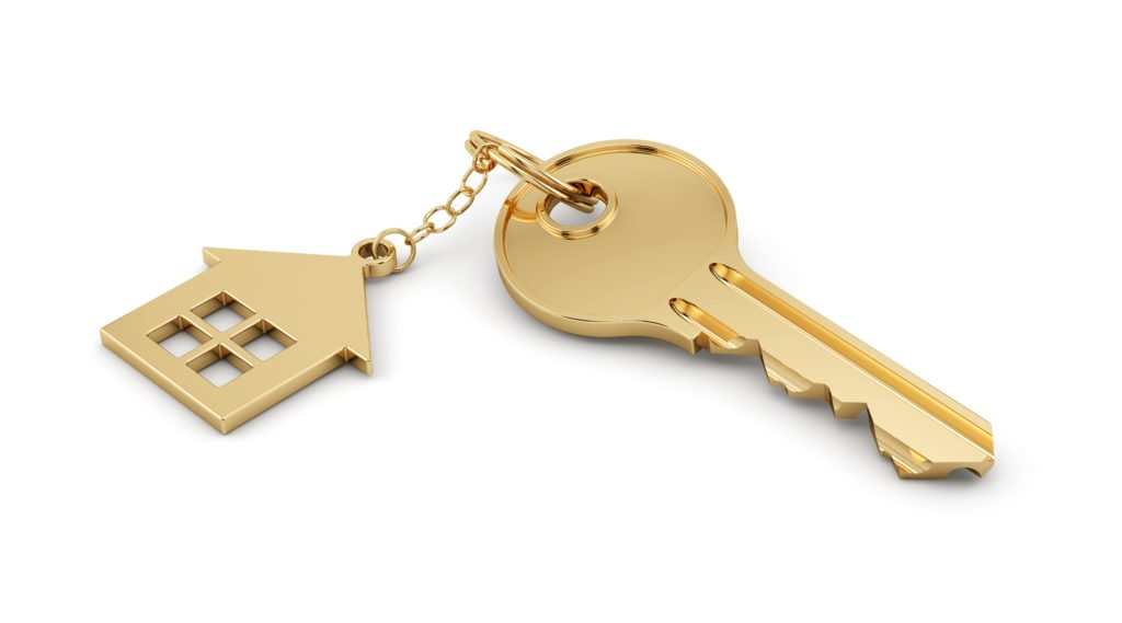 Key with house attached-shutterstock_204508276-min