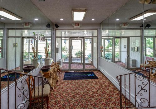Lobby of Eola Park apartments for rent in Philadelphia, PA